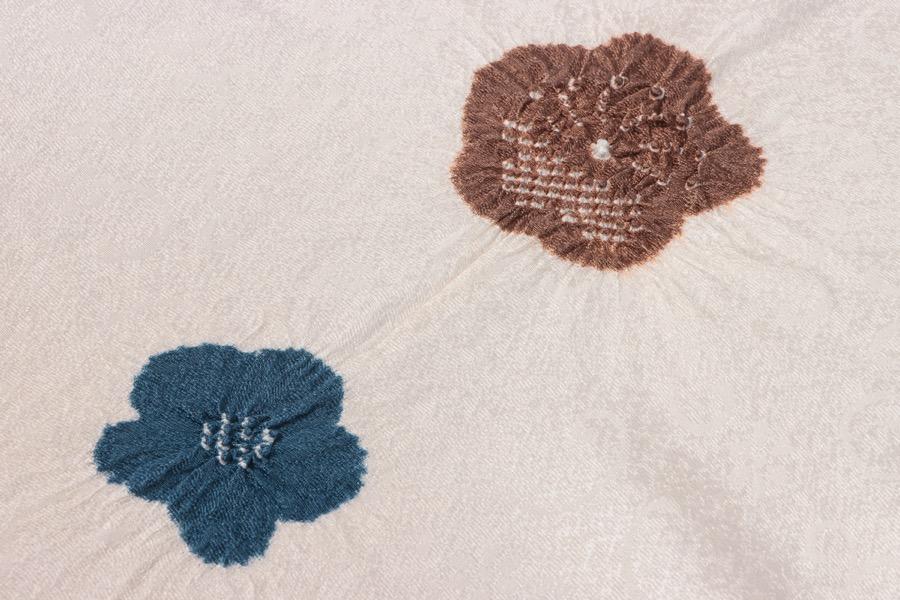 帯揚げ 正絹 おしゃれ カジュアル 和小物さくら 小紋 コーディネート 付け下げ   和服 和装 小紋 紬