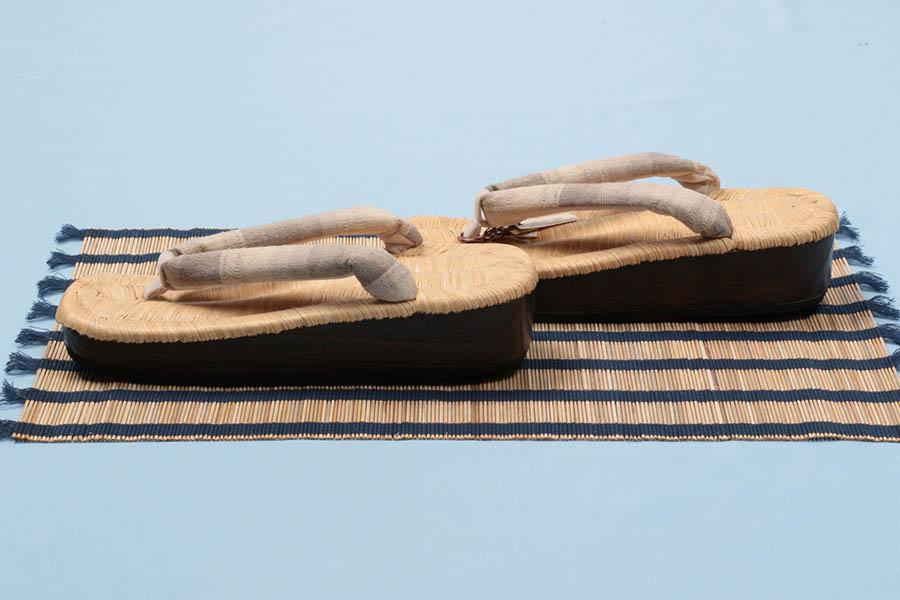 草履 着物 和服 大原商店 畳表 普段 履き 浴衣 鼻緒 女性 レディース 単品 カジュアル