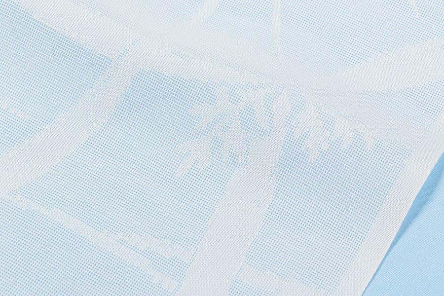 長襦袢 絹 正絹 加藤萬 紋紗 新品 未仕立て 反物 夏 長襦袢 夏の着物 フルオーダー 単衣用 夏用 絹100% 絽