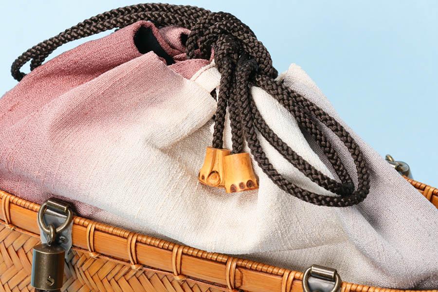 着物 バッグ 高級 籠バック 夏 和服  普段用 和装用 トートバック 和装用 和服 着物初心者 お出掛け 夏きもの