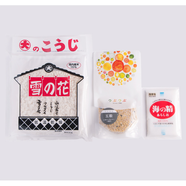 【5%OFF】つぶつぶ甘酒シェイクプレーンセット(3点)