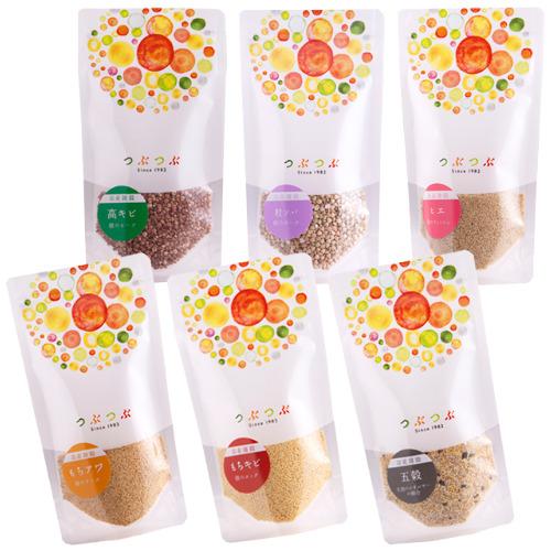 【5%OFF】お試し雑穀 6袋セット(簡単ごはんレシピ付き)