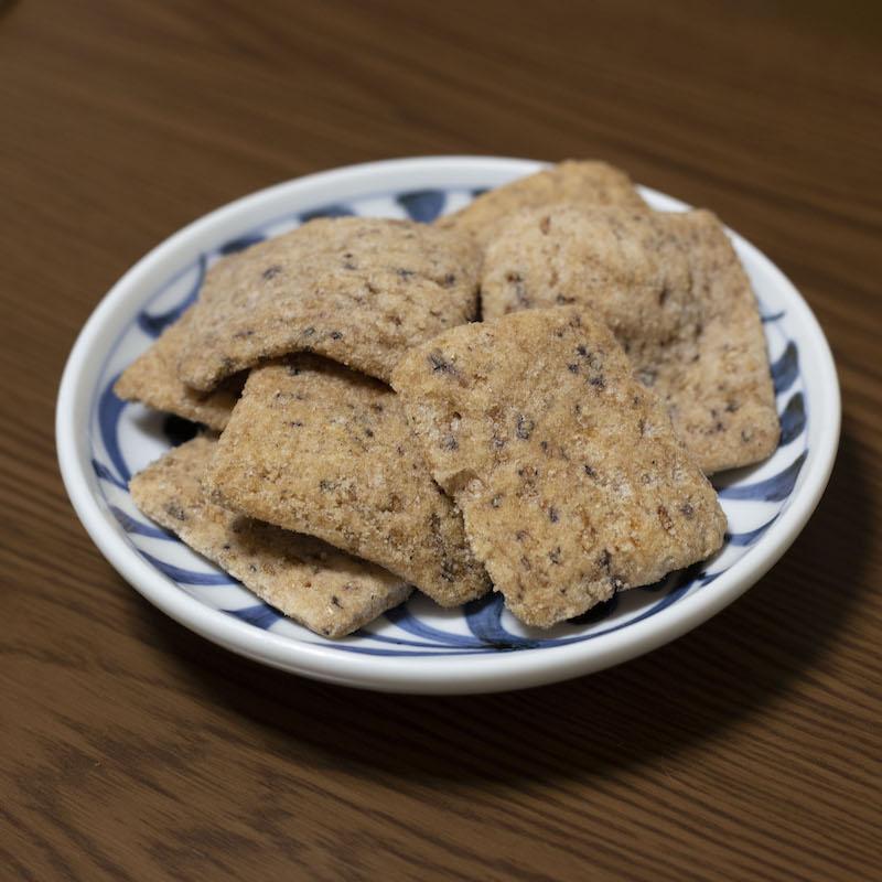 ザクザク 古代米おかき (塩たがね) 70g