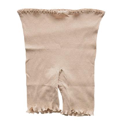 三分丈パンツ リブ 癒しのコットンシリーズ