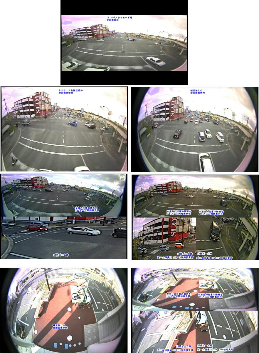 【SA-50597】防犯カメラ 監視カメラ 108万画素1000TVL 高性機能 カラーカメラ超広角固定 約108度パノラマレンズ USA製Omnivision社製 OV10633 WDR CMOS