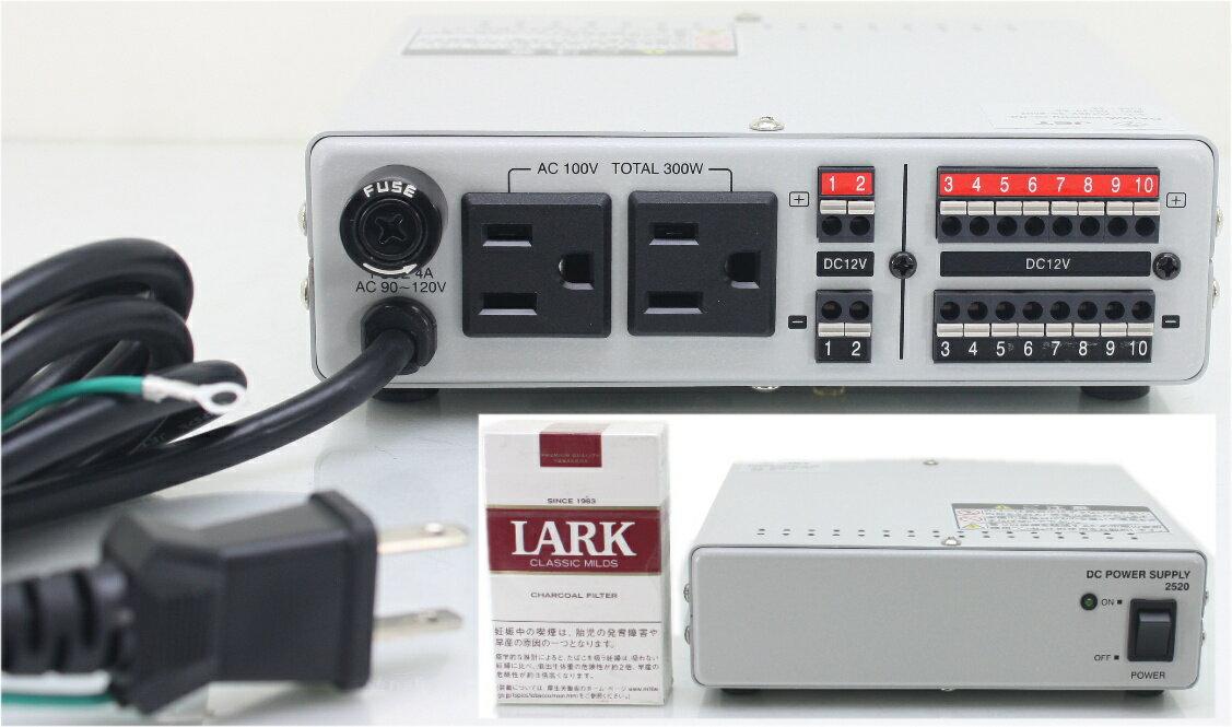 【SA-49047】 防犯カメラ・業務用に、店頭展示デスプレー用カメラ電源に最適! PS-2520