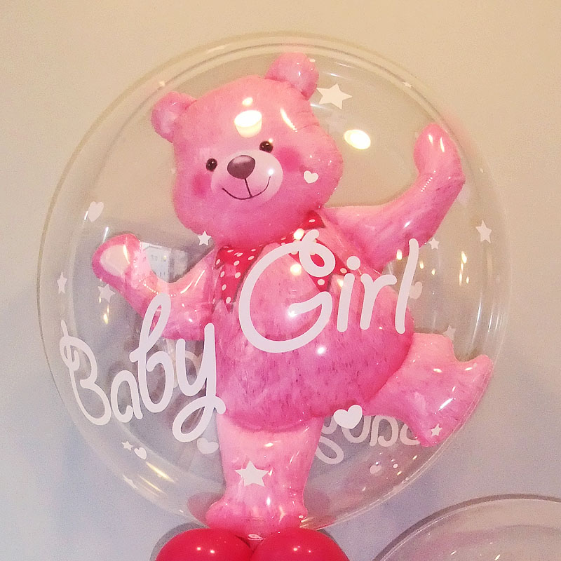 電報 『○Bubble bear girl○』