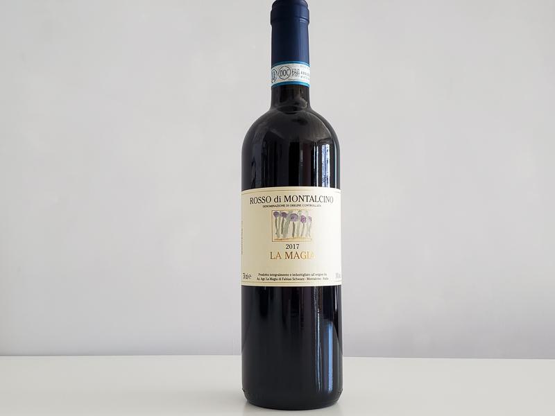 2017年 ロッソ・ディ・モンタルチーノ ラ・マージャ 750ml イタリア トスカーナ モンタルチーノ 赤ワイン オーガニック