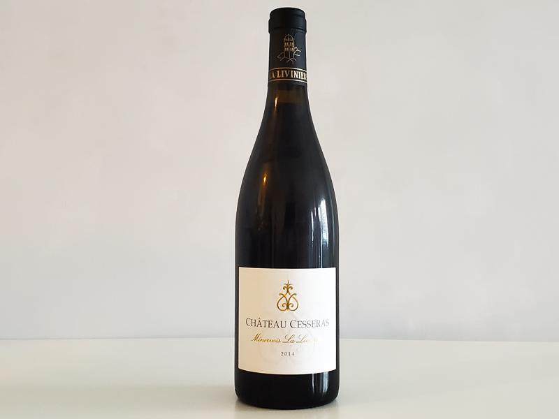 シャトー・セスラ ミネルヴォワ・ラ・リヴィニエール 2014年 ラングドック・ルーション750ml フランス 赤ワイン