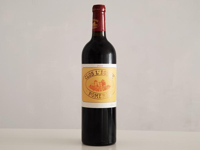 2004年 クロ・レグリーズ 750ml フランス ボルドー ポムロール 赤ワイン