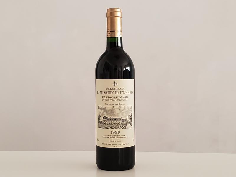 1999年 シャトー・ラ・ミッション・オーブリオン 750ml フランス ボルドー ペサック・レオニャン 赤ワイン
