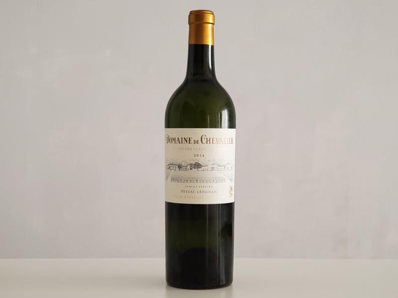2014年 ドメーヌ・ド・シュヴァリエ ブラン 750ml フランス ボルドー ペサック・レオニャン 白ワイン