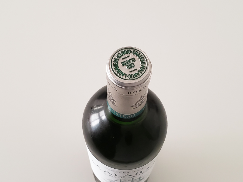 2015年 シャトー・マラルティック・ラグラヴィエール ブラン 750ml フランス ボルドー ペサック・レオニャン 白ワイン