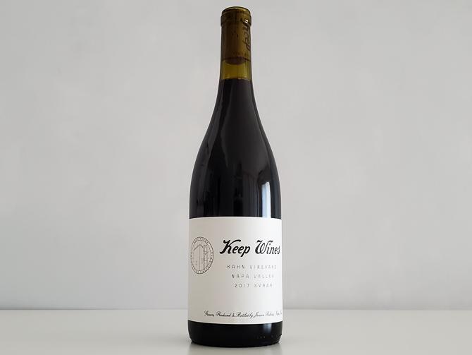 キープ・ワインズ シラー カーン・ヴィンヤード 2017年 750ml アメリカ カリフォルニア ナパ・ヴァレー 赤ワイン
