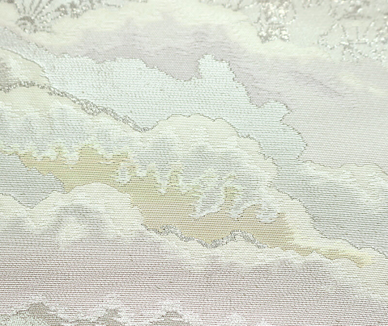 【中古】 服部織物謹製 祭りでにぎわう風景の袋帯 正絹 リサイクル レディース フォーマル 礼装 あす楽対応
