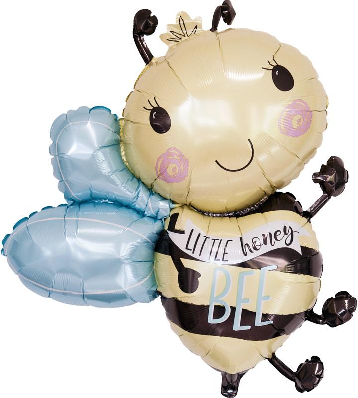 ミツバチとグリーンキャンディー、レッドキャンディー【お祝いやパーティーのバルーン電報・装飾】