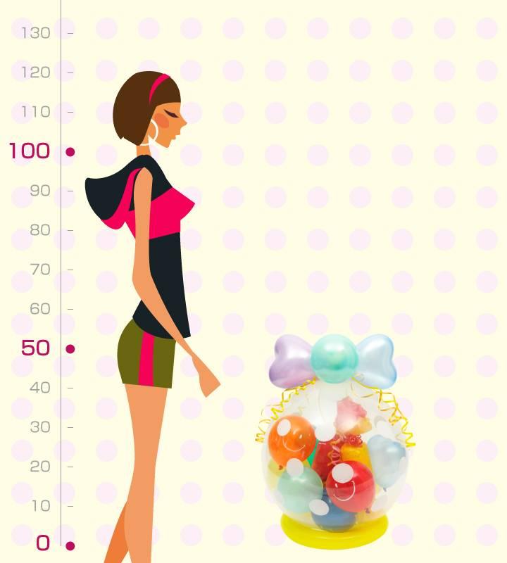ラッピングバルーン♪笑顔いっぱい♪キャンディ型おむつケーキ♪【出産祝いのバルーン電報】