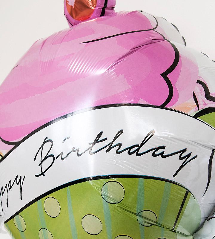 カップケーキ【誕生日のバルーン電報】