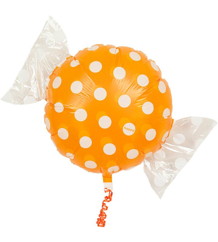 雲&レインボーとオレンジキャンディー、きりん【お見舞いのバルーン電報】
