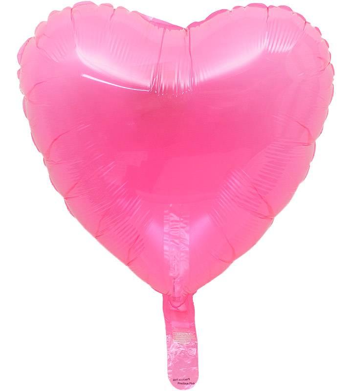 ピンクハートとぷちスマイルと大きなファーストバースデー【1才の誕生日のバルーン電報・女の子】