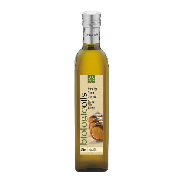 イタリア産有機バルサミコ酢(白)(オーガニックバルサミコ酢)500ml 有機JAS認証 国際規格HACCP認証 香料・酸化防止剤・保存料などの添加物一切なし