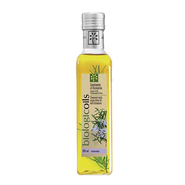 有機エキストラヴァージンオリーブオイル ローズマリー229g(250ml)有機JAS認証 香料・酸化防止剤・保存料などの添加物一切なし オーガニック