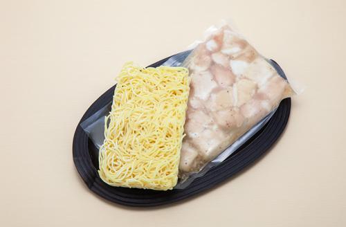 もつ焼きラーメン(ねぎ塩味)【2人前】