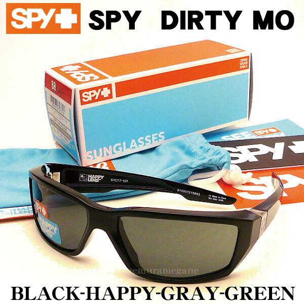 スパイ SPY-DIRTYMO-BLACK-HGGサングラス DIRTY MO