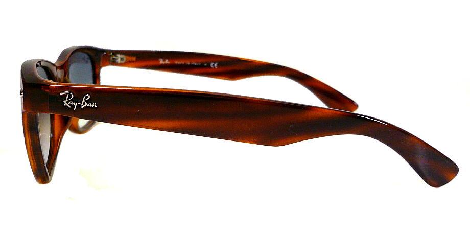 レイバン RayBan NEW WAYFARER RB2132F 820/3F 55mm 58mm ストライプドレッドハバナ/クリアグラディエントブルー