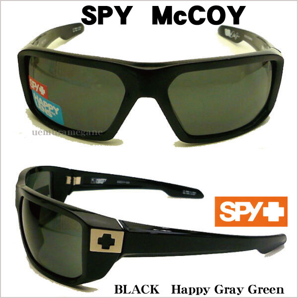 スパイ【SPY-McCOY】サングラス MCCOY−BK-HGG MCCOY BLACK HAPPY GRAY GREEN