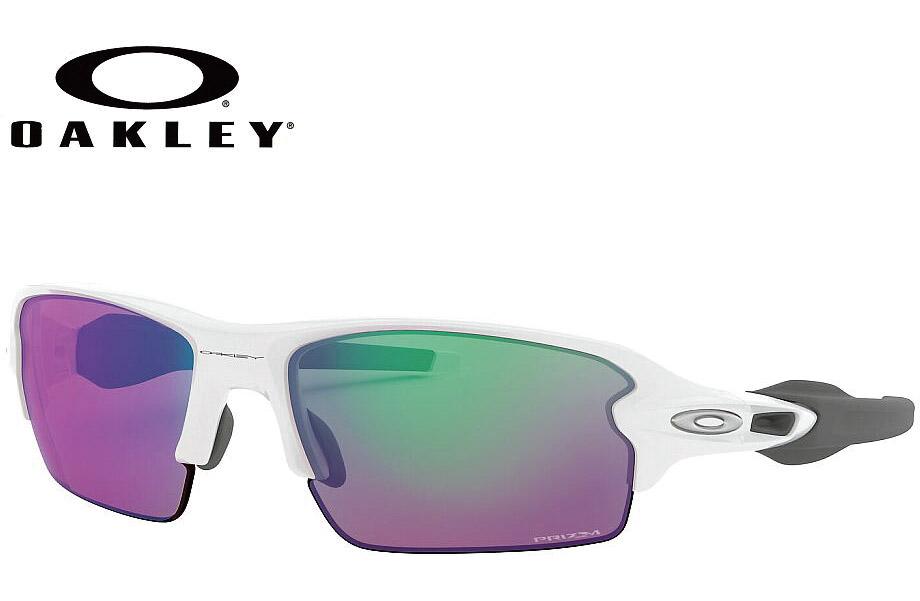 オークリー OAKLEY FLAK 2.0(A) ポリッシュドホワイト/プリズムゴルフ OO9271-10 PRIZM GOLF 61mm サングラス ASIA FIT 正規商品販売店