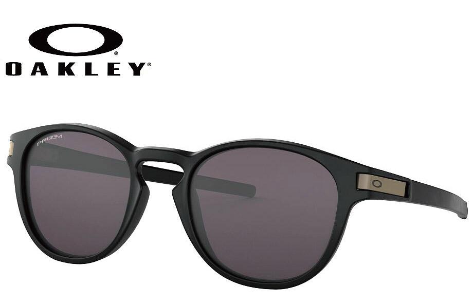 オークリー OAKLEY LATCH(A) マットブラック/プリズムグレー OO9349-1953 サングラス OAKLEY 正規商品販売店