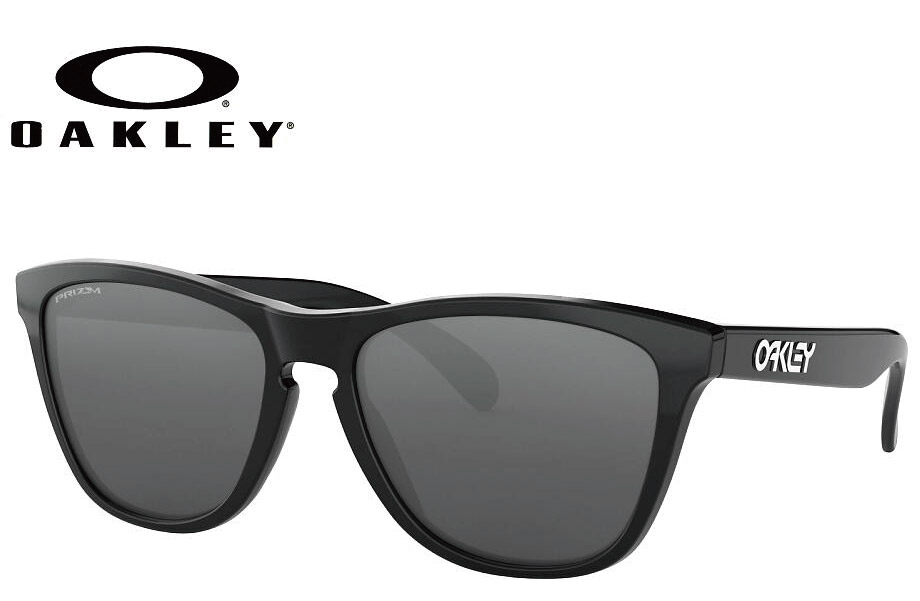 オークリー OAKLEY FROGSKINS(A) ポリッシュドブラック/プリズムブラック oo9245-6254 54mm サングラス 正規商品販売店