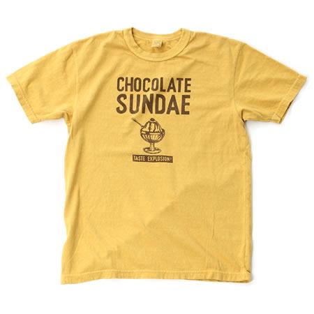 CHOCOLATE SUNDAE Tシャツ(全3色)
