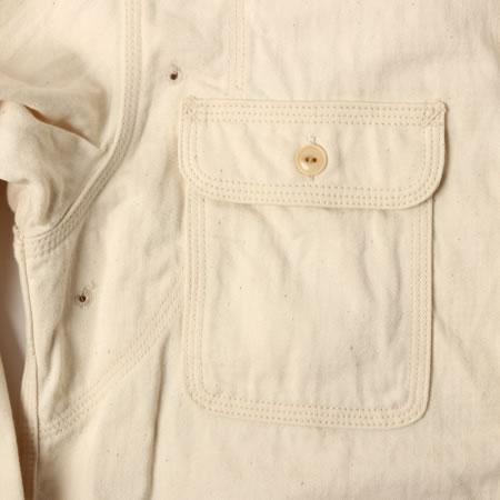 メディカルシャツ オフホワイト