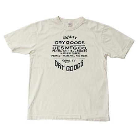 スーピマDRYGOODSTシャツ(全3色)
