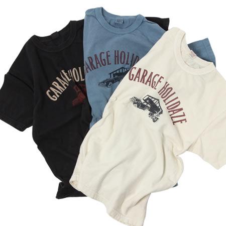 GARAGE HOLIDAZE Tシャツ(全3色)