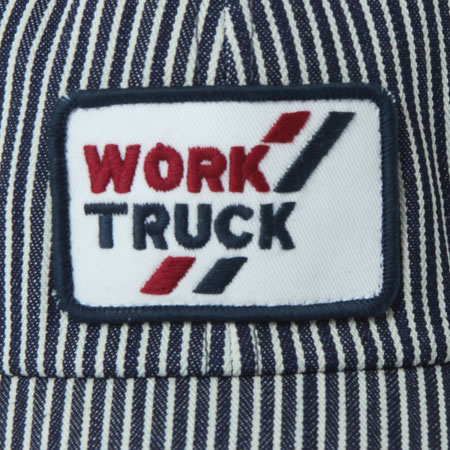 ヒッコリーキャップ WORK TRUCK ホワイト