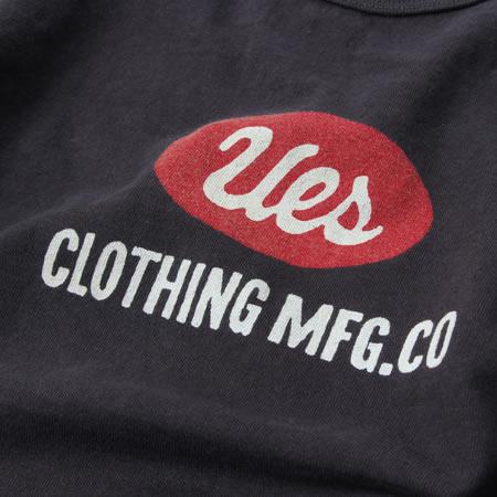 UES ロゴTシャツ