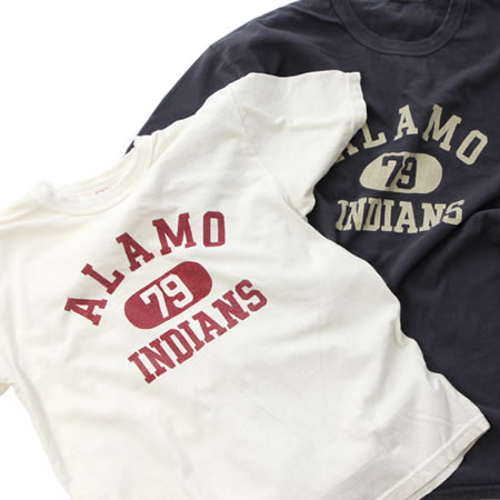 ALAMO INDIANS Tシャツ(全2色)