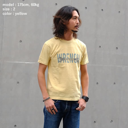 WRENCH Tシャツ(全3色)