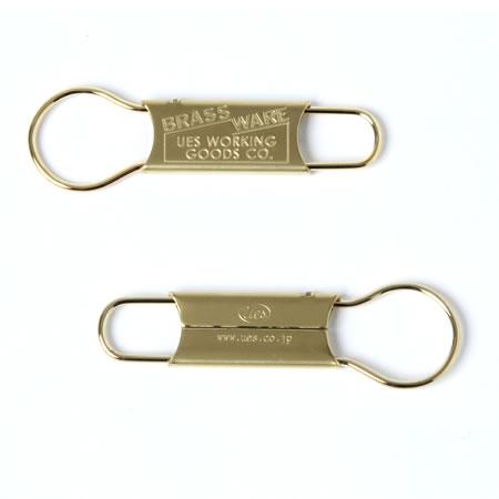 真鍮キーホルダー(全2色)