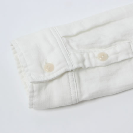 ガーゼワークシャツ ホワイト
