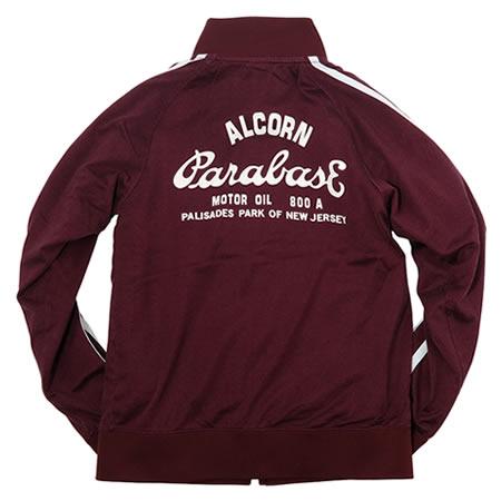 トラックジャケット ワイン