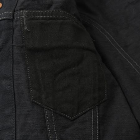 3rd デニムジャケット ブラック