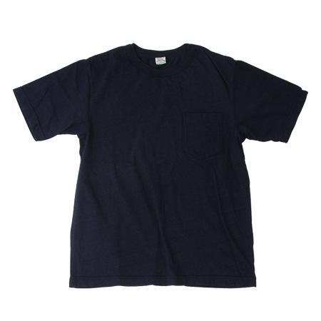 インディゴ無地Tシャツ