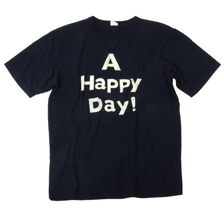 インディゴ A HAPPY DAY!Tシャツ
