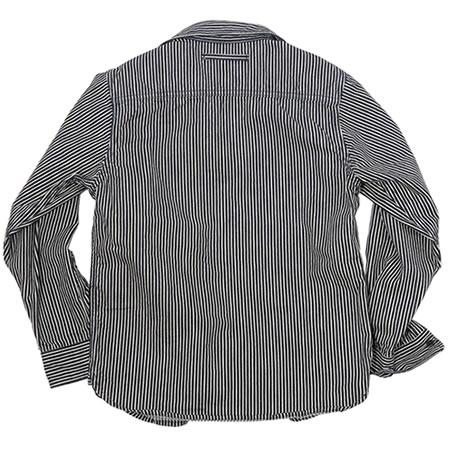 トラベリングシャツ ヒッコリー