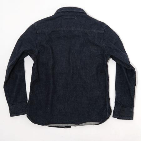 トラベリングシャツ デニム