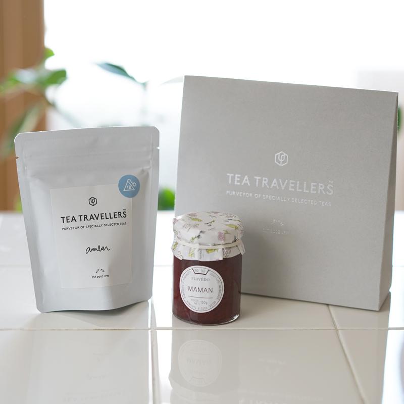 【母の日企画】紅茶とママンジャムのセット(お茶の淹れ方リーフレット付き・ギフトケース入り)